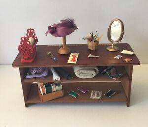 Dolls House Haberdashery Shop Counter