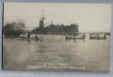 NAPOLI R. Nave S. Giorgio disincagliata da Marechiaro PC Circa 1911