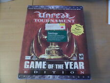 Unreal Tournament Game Of The Year Edition + Big Box PCCD