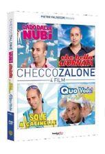 CHECCO ZALONE - 4 DVD - COFANETTO UNICO - CADO DALLE NUBI/.../QUO VADO?