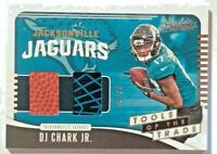 2019 Absolute Tools of the Trade Dual Relics D.J. Chark Glove & Ball #43/99