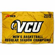 VCU Rams 2019 Mens A10 Basketball Champions 3x5 Grommet Flag