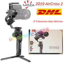 New Moza Aircross 2 3-axis Handheld Gimbal Stabilizer for Mirrorless DSLR Camera