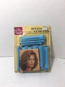 Vintage Goody Perm Rod Curlers Pink Medium 12 Count 1982 #430/3 NEW SEALED