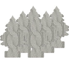 Little Trees Car Air Freshener 6-Pack (Cable Knit)