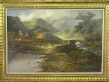 Oil Medium (up to 36in.) Art Landscape Paintings