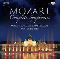 JAAP/MOZART/ WOLFGANG AMADEUS/+ - MOZART: SÄMTLICHE SYMPHONIEN 11 CD NEU