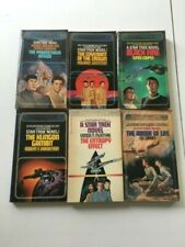 Lot 6 Vintage 1980'S Star Trek Timescape Novel Collectible Books New Old Stock