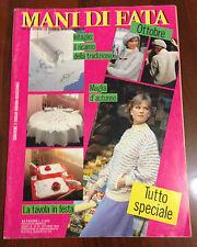 R16 > MANI DI FATA OTTOBRE 1985 - INTAGLIO IL RICAMO DELLA TRADIZIONE -