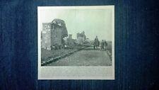 Rara veduta di fine '800: La Via Appia. Roma + Sala di Saturno. Firenze