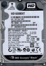 WD1600BEKT-60A25T1 DCM: HHCTJABB WX71A Western Digital 160GB