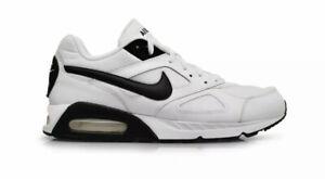 Mens Nike Air Max IVO Trainers White Black UK 7.5 Gym Sneakers
