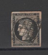 France - n° 3 - oblitéré  - C: 65,00 €