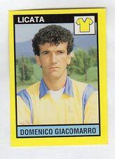figurina IL GRANDE CALCIO VALLARDI 1988/89 NUMERO 456 LICATA GIACOMARRO