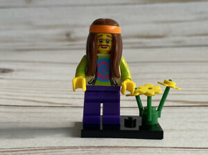 """LEGO Collectible Minifigure #8831 Series 7 """"HIPPIE"""" (Complete)"""
