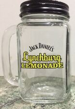 Jack Daniel's Lynchburg Lemonade Mason Jar with Lid