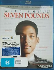 *New & Sealed*  Seven Pounds (Blu-ray, 2009) Will Smith Drama Movie (was $39.99)