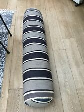 More details for  french large garden bench / bed cushion / bolster feather antique vintage