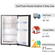 Smad 50L DC12V/AC240V Camper Fridge Semi Truck Van Leisure RV Vehicles Fridge