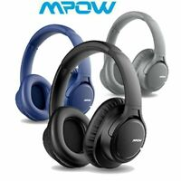 Mpow H7 Over Ear Bluetooth Headset Foldable Wireless Headphones HiFi Stereo Bass