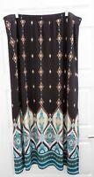 New Chico's Moroccan Lanterns Pattern Maxi Skirt sz XL