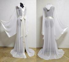 Sexy Wedding Dresses Sleepwear Hooded Kimono Bridal Robes Bathrobes Chiffon New