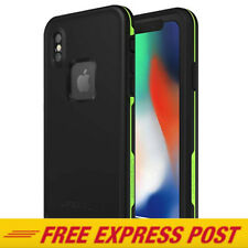 Lifeproof iPhone X & XS Case FRE Dust Shock Waterproof Cover BLACK