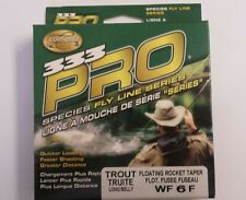 Cortland 333 Pro Species Fly Line series floating rocket Taper WF 6 f