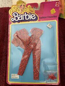 1979 Vintage Mattel Barbie Fashion Favorites #3448 MOC  Lot 1