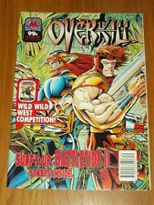 OVERKILL #52 MARVEL UK COMIC MAGAZINE DEATHS HEAD