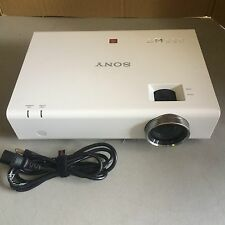 SONY VPL-EW275 720p HD LCD PROJECTOR, 3700 LUMENS!! ONLY 80 ORIGINAL HOURS!!