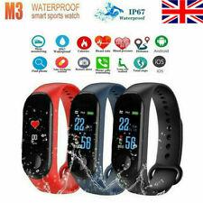 New Digital LED Rectangular Screen Silicon Band Wrist Watch Men Women Kids Boys