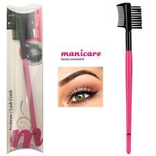 Quality Eyebrow Lash Comb Eye Makeup Eyelash Grooming Definer Brush Double Tool