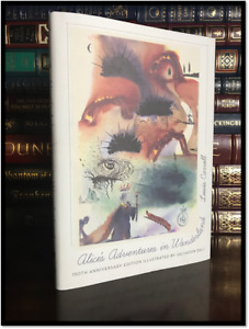 Alice In Wonderland Illustrated by Salvador Dali New 150th Anniversary Hardback