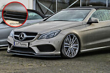 Espada Front alerón ABS Mercedes Clase E AMG c207 a207 Abe negro brillante