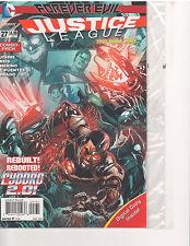 JUSTICE LEAGUE #27 COMBO PACK NEW 52 (February 2014, DC Comics)