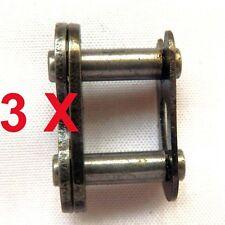 3X Kettenschloss 420 für Mini PocketBike, ATV, Quad, DirtBike