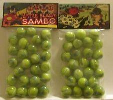 2 Bags Of Little Black Sam Bo Promo Marbles