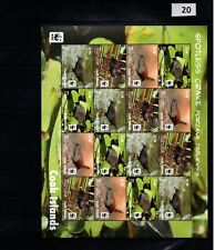 / COOK ISLANDS - MNH - WWF - NATURE - BIRDS - PLANTS - 2014