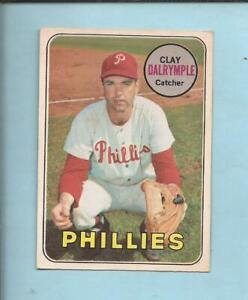 1969  OPC  # 151  CLAY DALRYMPLE  Philadelphia Phillies   Excellent +