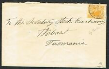 More details for 1904 western australia 2d yellow ship mail room to hobart tasmania vgu