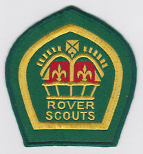1940-60's UK / BRITISH SCOUTS - KING'S / QUEEN'S ROVER SCOUT TOP AWARD Backpatch
