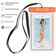 Luminous Glow Waterproof Underwater Pouch Bag Pack Dry Case For iPhone 7/7 Plus