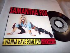 SAMANTHA FOX-I WANNA HAVE SOME FUN/OUT OF..HANDS-JIVE 42953 FRANCE VG+/VG+ 45+PS