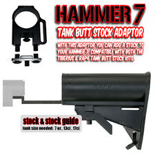 Spyder HAMMER 7 Stock Tank Adaptor and RAP4 Buttstock & Guide For CO2 or HPA