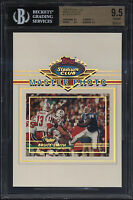 1993 Stadium Club 5x7 Master Photo Bruce Smith Gem Mint BGS 9.5 Buffalo Bills
