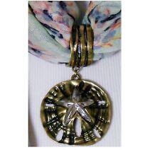 Starfish Scarf Charm * Brand New * Scarf not Included * Scarf Jewelry *