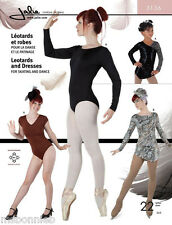 Jalie Leotards, Ice Skating, Dance Dress Sewing Pattern 3136 Miss/Girls 22 Sizes