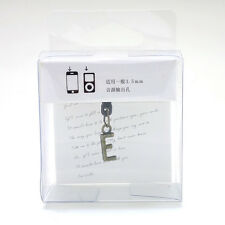 Letter E Cellphone Earphone Jack Plug
