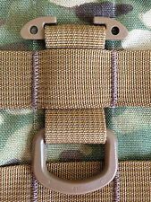 TAN Tactical T-Ring Webbing Adaptor for molle/pals/acu/emt/military